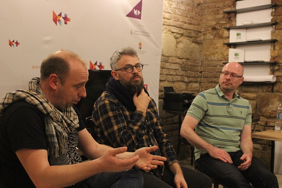 Németh Róbert, Bodrogi Bozán András és Réz György