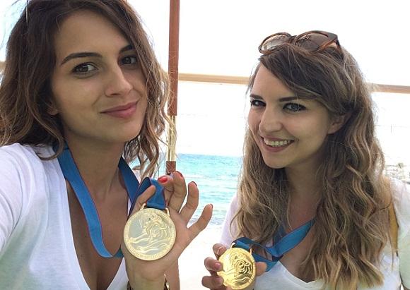 Medina Paloma és Hadnagy Luca